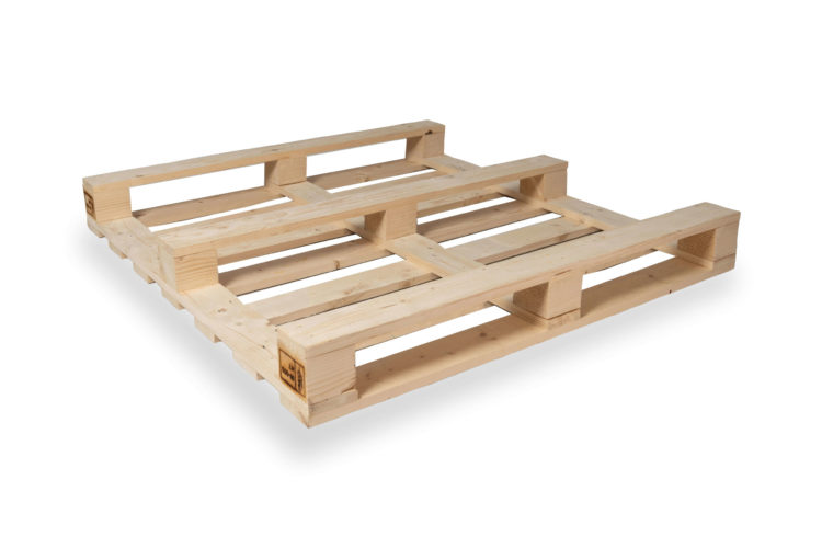 Non Reversible Four Way Pallet (1120 x 1120)